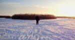 ノイジーデル湖の自然のスケートリンク(ビデオも!)