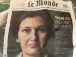 友だちとパリを歩く シモーヌ・ヴェイユに会えたかも?!